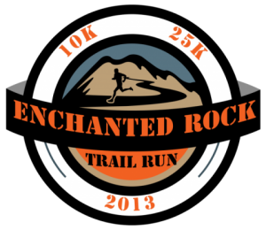 Enchanted Rock Trail Run 25k Nov '13