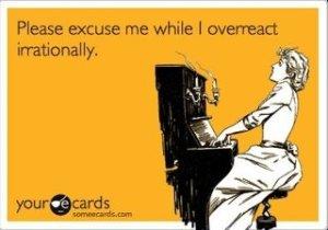 overreacting 2